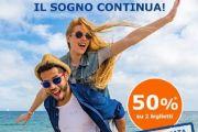Croazia il sogno continua, con SNAV Super Promo 50%