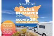 """Offerta Speciale """"SICILIA IN CAMPER"""""""