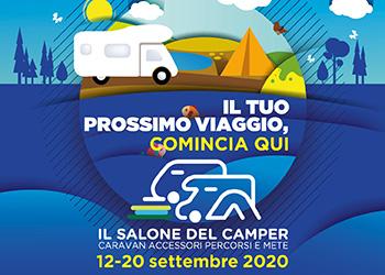 Il salone del Camper - Parma - 12/20 settembre 2020