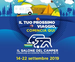 Il salone del Camper - Parma - 14/22 settembre 2019