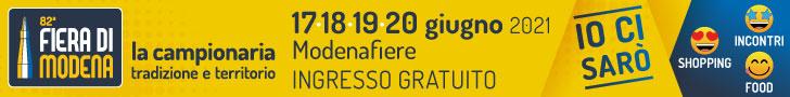 Fiere da Modena - 17 18 19 20 giugno 2021